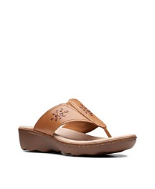 Clarks Collection Women's Phebe Mist Flip-Flops