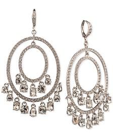 Givenchy Shaky Crystal Orbital Drop Earrings