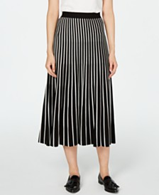 Weekend Max Mara Ariano Accordion Knit Skirt