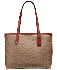 COACH Central Signature Tote