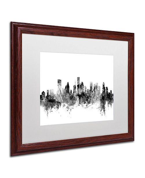 Home Decor Stores Houston Tx: Trademark Global Michael Tompsett 'Houston Texas Skyline B