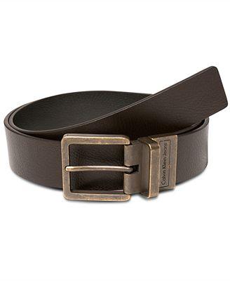 Calvin Klein Jeans 38mm Reversible Casual Belt