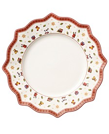 Toy's Delight White Dinner Plate