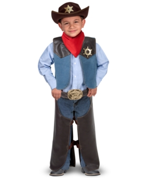 Melissa and Doug Kids Toys Cowboy Costume