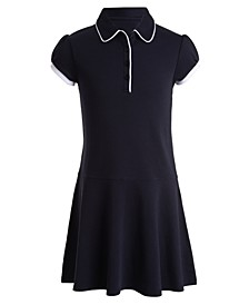 Little Girls 2Tone Dress