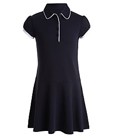 Nautica Big Girls Plus 2Tone Dress