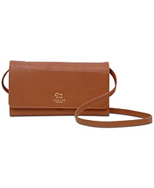 Leather Phone Crossbody Bag