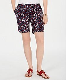 Hollywood Floral-Print Shorts