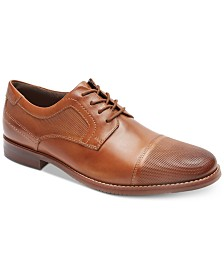 Rockport Men's Saxxen Cap-Toe Bluchers