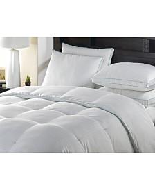 Blue Ridge 300 Thread Count Oversized White Down Comforter, Full/Queen