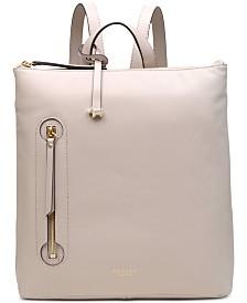 Radley London Zip-Top Leather Backpack