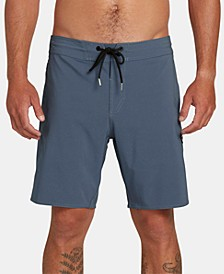 "Men's Solid Stoney 19"" Board Shorts"