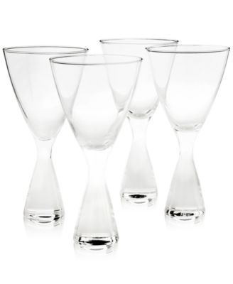 Plateau Clear Glasses, Set of 4, Created for Macy's