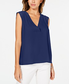 Alfani V-Neck Top, Created for Macy's