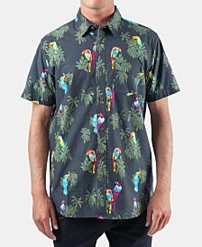 Rip Curl Men's Bender Regular-Fit Reverse Floral-Print Shirt