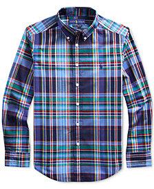 Polo Ralph Lauren Big Boys Stretch Poplin Shirt