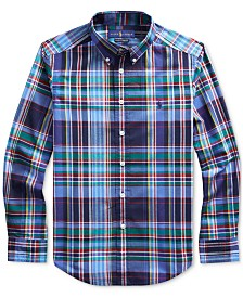 Polo Ralph Lauren Big Boys Stretch Poplin Shirt