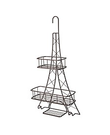 Elle Décor Ville Des Lumieres Collection Eiffel Tower Shower Caddy