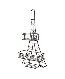 Elle Décor Ville Des Lumieres Collection Eiffel Tower Shower Caddy