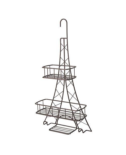 Elle Decor Elle Décor Ville Des Lumieres Collection Eiffel Tower Shower Caddy