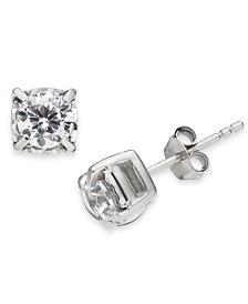 Diamond Stud Earrings (1 ct. t.w.) in 14k White Gold