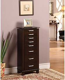 Nathan Direct St. Ives 7-Drawer Jewelry Armoire