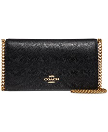 COACH Convertible Belt Bag In Polished Pebble Leather