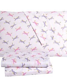 Unicorns Of Fun 3PC Twin Sheet Set