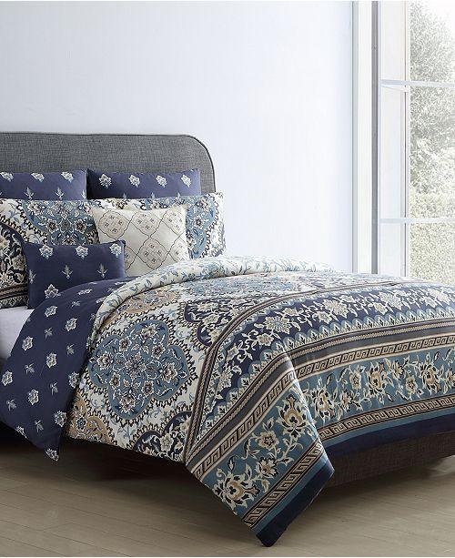 VCNY Home Brule 7-Pc.  King Comforter Set