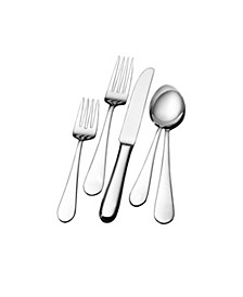 Wallace Continental Classic 65 Piece Flatware Set, Service for 12