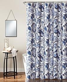 """Cynthia Jacobean 72"""" x 72"""" Shower Curtain"""