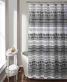 "Hygge Geo 72"" x 72"" Shower Curtain"