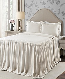 Ticking Stripe 3-Piece Full Bedspread Set