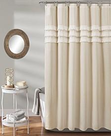 """Ciel Tassel 72"""" x 72"""" Shower Curtain"""