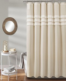 "Ciel Tassel 72"" x 72"" Shower Curtain"