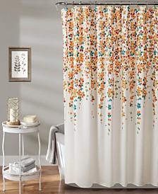 "Weeping Flower 72"" x 72"" Shower Curtain"