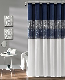 "Night Sky 72"" x 72"" Shower Curtain"