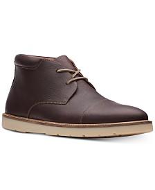Clarks Men's Grandin Top Dark Brown Casual Leather Boots