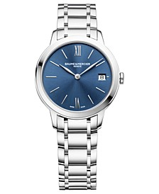 Women's Swiss Classima Stainless Steel Bracelet Watch 31mm