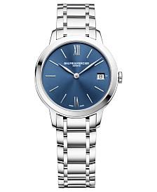 Baume & Mercier Women's Swiss Classima Stainless Steel Bracelet Watch 31mm