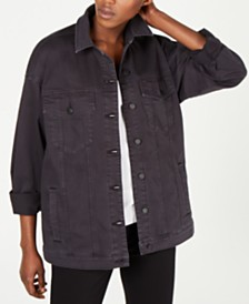 Eileen Fisher Oversized Denim Jacket