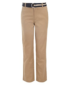 Nautica Big Boys Belted Twill Pants