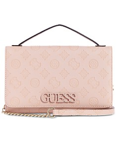 a45ef0b1631 Pink GUESS Handbags, Wallets and Accessories - Macy's