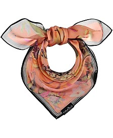 Fraas Tropical Floral Square Scarf