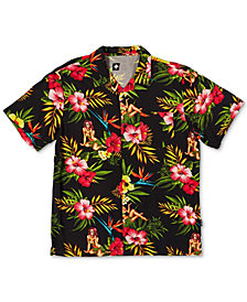 LRG Men's Strange Days Woven Shirt