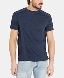 Buffalo David Bitton Men's Kalit Textured Tonal Taped T-Shirt
