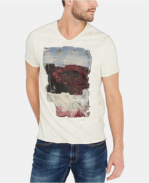 Buffalo David Bitton Men's Tuca Graphic T-Shirt