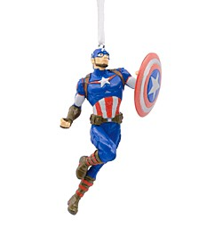 Marvel Avengers Captain America Christmas Ornament