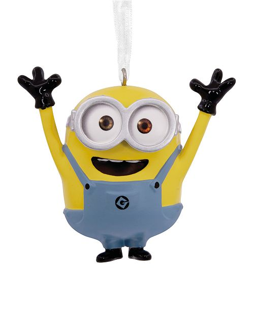 Minions Christmas.Despicable Me Bob The Minion Christmas Ornament