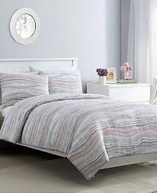 Marble 3 Piece King Comforter Set